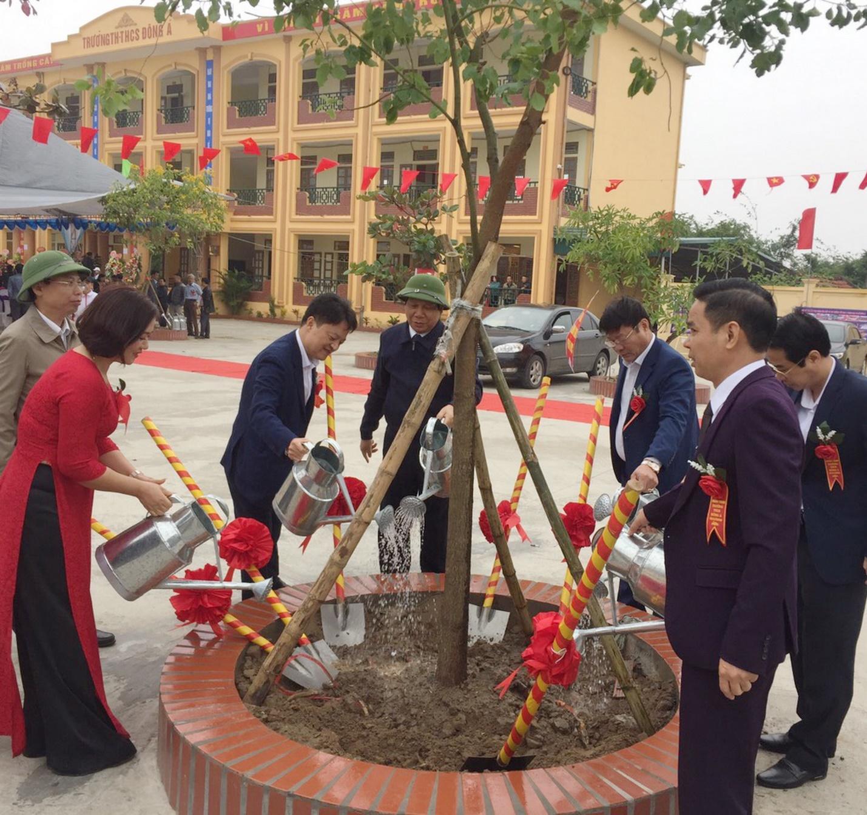 PV GAS tài trợ xây dựng Trường THCS Đông Á, Thái Bình - 4