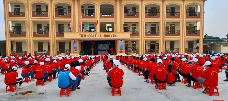 PV GAS tài trợ xây dựng Trường THCS Đông Á, Thái Bình - 5