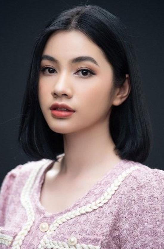 Ngây ngất nhan sắc của người đẹp tóc ngắn nhất Hoa hậu Việt Nam 2020 - hình ảnh 2