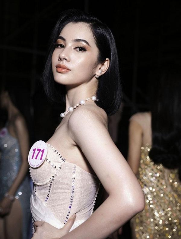 Ngây ngất nhan sắc của người đẹp tóc ngắn nhất Hoa hậu Việt Nam 2020 - hình ảnh 7