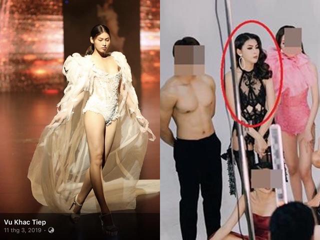 """Á hậu 2 """"Hoa hậu Việt Nam"""" lộ ảnh bị nghi là """"gà"""" của ông bầu Ngọc Trinh: Sự thật bất ngờ - 3"""