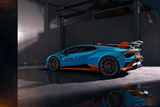 Lamborghini Huracan STO siêu phẩm mới chính thức được ra mắt - 8