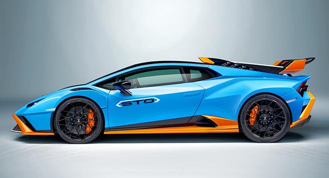 Lamborghini Huracan STO siêu phẩm mới chính thức được ra mắt - 1