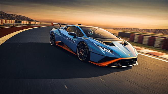 Lamborghini Huracan STO siêu phẩm mới chính thức được ra mắt - 2