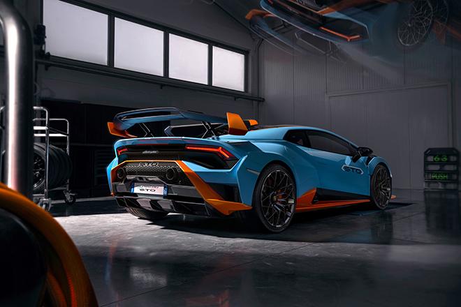 Lamborghini Huracan STO siêu phẩm mới chính thức được ra mắt - 4