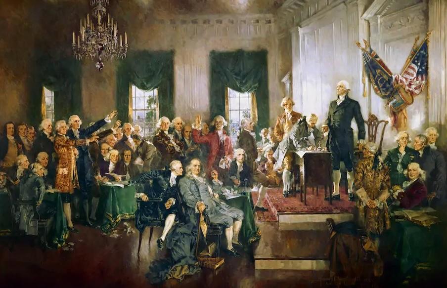 Ông Trump làm điều những người soạn hiến pháp Mỹ chưa hề nghĩ đến? - 1