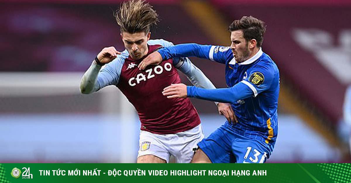 Video highlight trận Aston Villa - Brighton: Liên tiếp dẫn trước, phút cuối đảo chiều