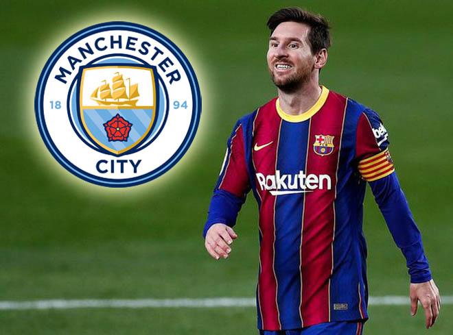 Bất ngờ Man City từ bỏ Messi, săn Lukaku và