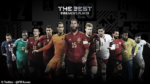 """11 siêu sao đua giải """"FIFA The Best"""": 4 SAO Liverpool mơ soán ngôi Ronaldo - Messi - 1"""