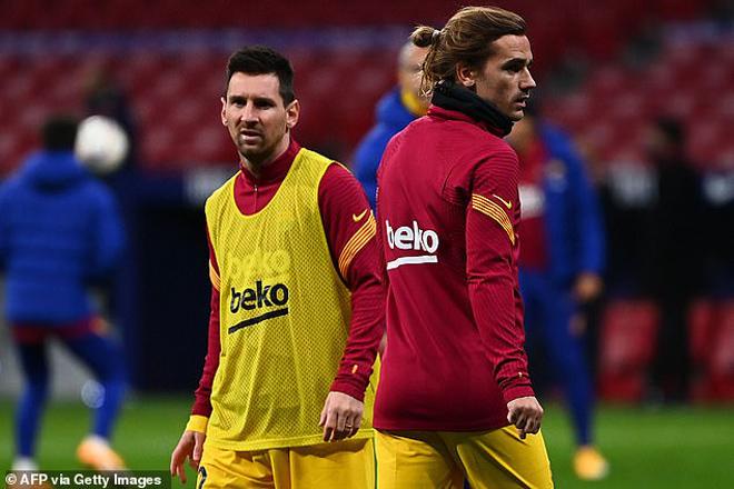 """Loại Messi - Griezmann khỏi đội hình chính, Koeman """"to gan"""" nhất lịch sử Barca? - 1"""
