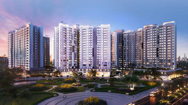 """Mục sở thị căn hộ đẹp không """"góc chết"""" tại dự án Westgate - 3"""