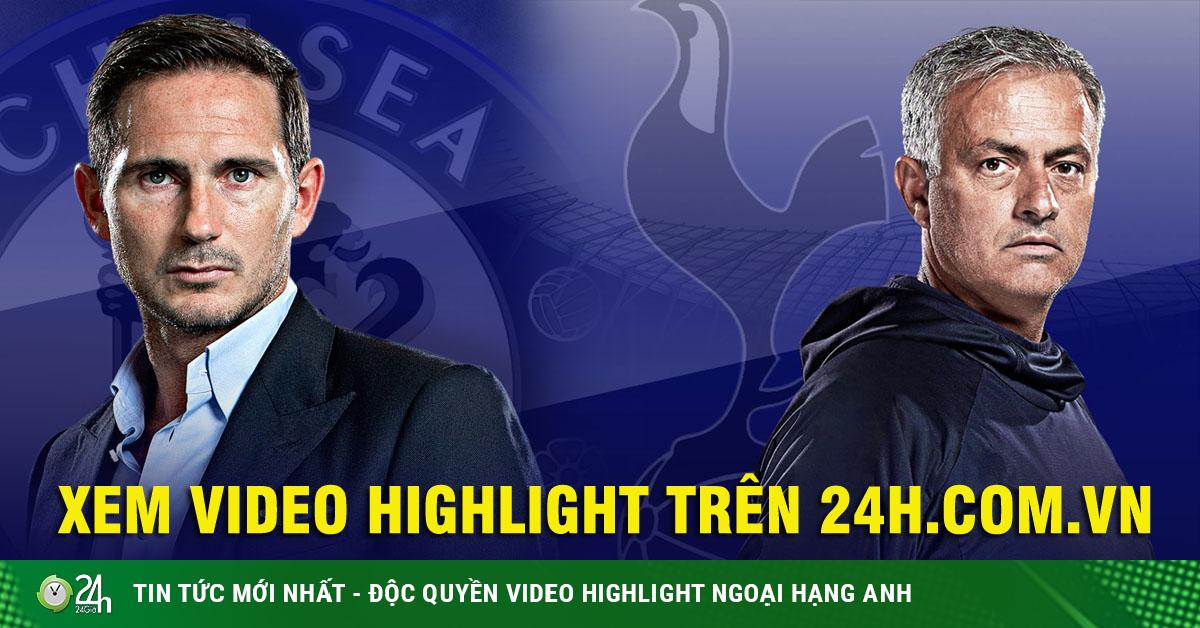 Nảy lửa Mourinho đấu Lampard, Tottenham muốn hạ gục Chelsea giữ ngôi đầu