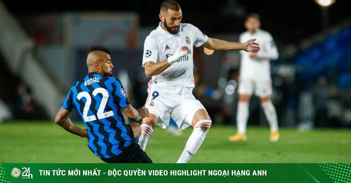 Trực tiếp bóng đá Inter Milan - Real Madrid: Bi kịch ngay tại tổ ấm?