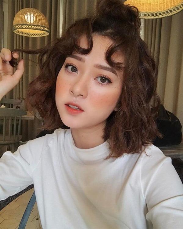 10 Kiểu tóc ngắn cho mặt dài đẹp trẻ trung hot nhất hiện nay - 7