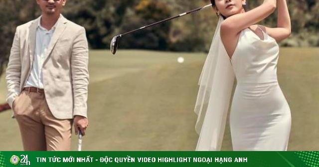 Nữ BTV thể thao đi nhầm sân golf, được chồng như ý là ai?