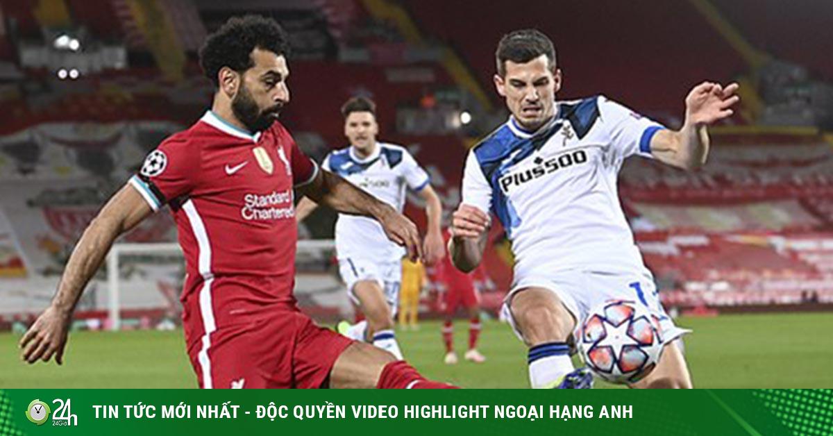 Liverpool - Atalanta: Hãm thành dữ dội, 2 bàn thắng trong 3 phút (Kết quả bóng đá Cúp C1)