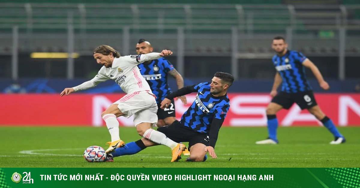 Inter Milan - Real Madrid: Phủ đầu sắc lẹm, bước ngoặt thẻ đỏ (Kết quả bóng đá Cúp C1)