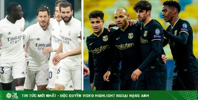 Dự đoán tỷ số vòng 11 La Liga: Real, Barca thăng hoa nhờ cảm hứng Cúp C1