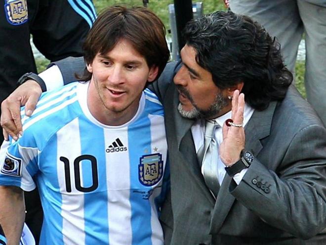 Barca gây sốc với ý tưởng tri ân Messi như cố huyền thoại Maradona - 1