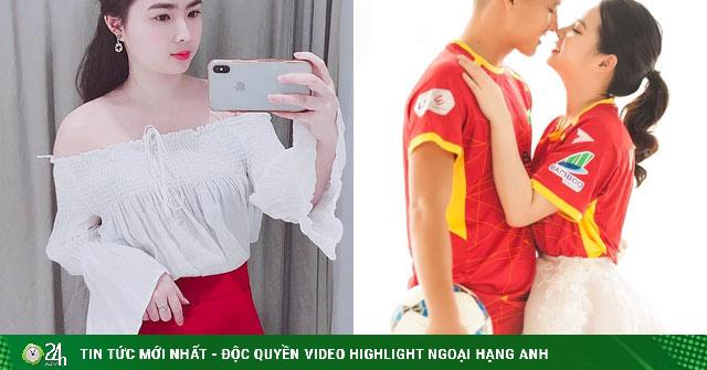 Đội trưởng CLB Sông Lam Nghệ An cưới được vợ xinh như hot girl