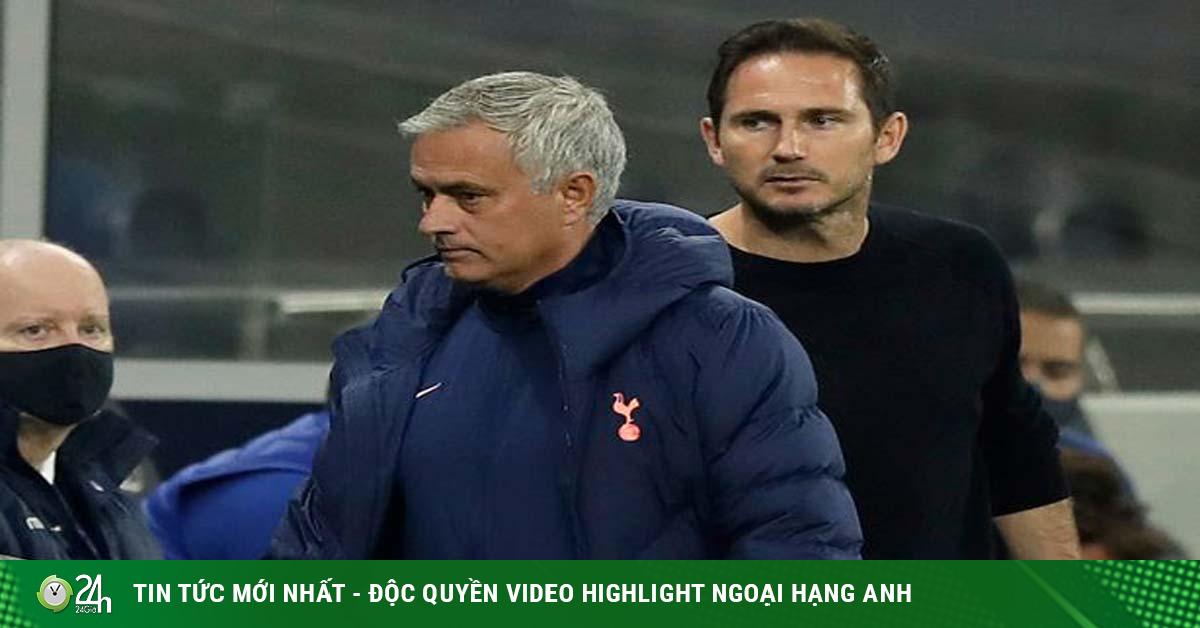 Chelsea giăng bẫy đấu Tottenham: Mourinho ra đòn tâm lý, Lampard trả đũa