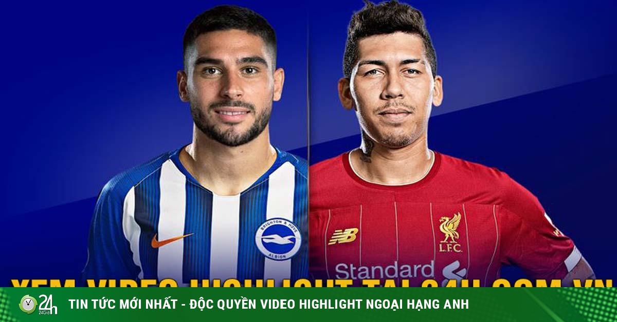 Trực tiếp bóng đá Brighton - Liverpool: Vực dậy sau cú sốc tại Cúp C1