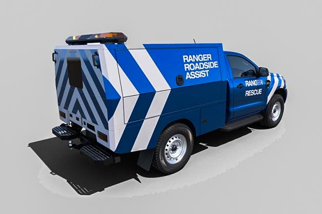 Ford Ranger có thêm bản không thùng sau tại châu Âu - 3