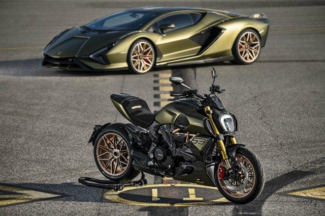 """""""Siêu bò"""" Ducati Diavel 1260 Lamborghini Edition ra mắt, số lượng siêu hiếm - 2"""