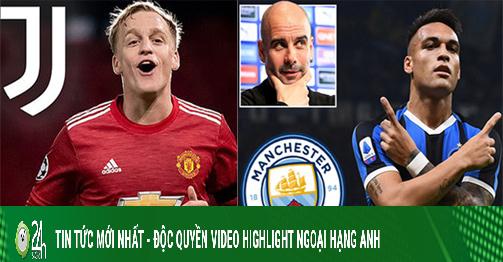 MU lo mất Van De Beek vì trùm Serie A, Man City chốt mua đàn em Messi (Clip 1 phút Bóng đá 24H)