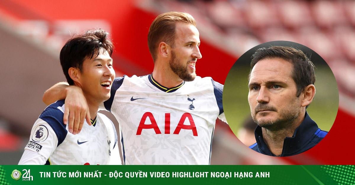 Chelsea muốn thắng Tottenham, Lampard ủ mưu chặn Kane và Son Heung Min