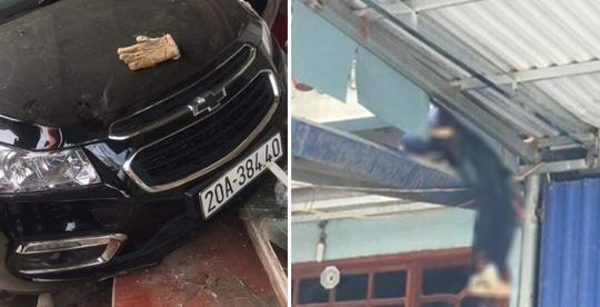 Vụ ôtô tông 2 bố con tử vong, người con bay lên nóc nhà: Tài xế chưa có bằng lái ra trình diện - 1