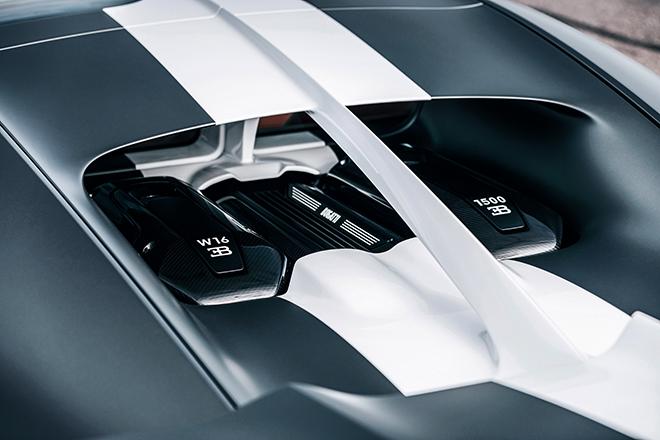 Bugatti Chiron phiên bản huyền thoại bầu trời có giá bán hơn 78 tỷ đồng - 10