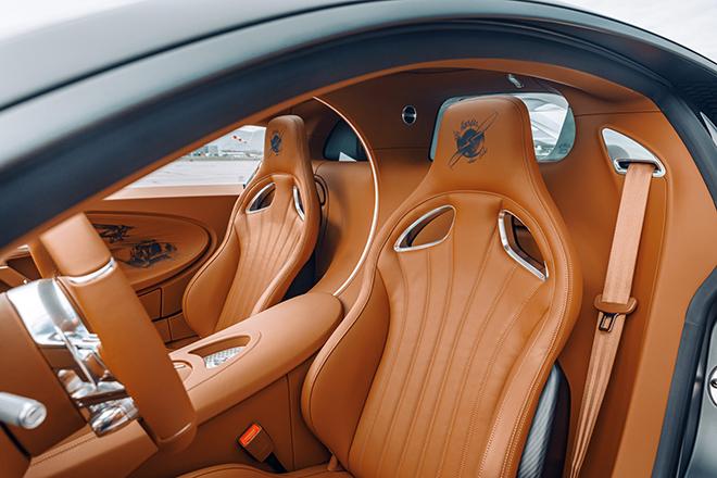 Bugatti Chiron phiên bản huyền thoại bầu trời có giá bán hơn 78 tỷ đồng - 12