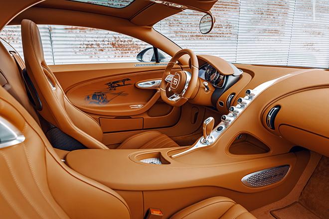 Bugatti Chiron phiên bản huyền thoại bầu trời có giá bán hơn 78 tỷ đồng - 13