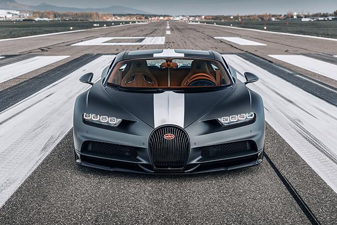 Bugatti Chiron phiên bản huyền thoại bầu trời có giá bán hơn 78 tỷ đồng - 1