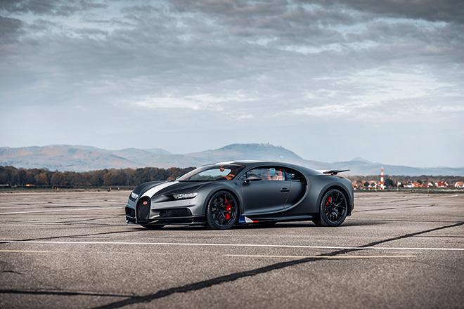 Bugatti Chiron phiên bản huyền thoại bầu trời có giá bán hơn 78 tỷ đồng - 2