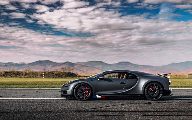 Bugatti Chiron phiên bản huyền thoại bầu trời có giá bán hơn 78 tỷ đồng - 3