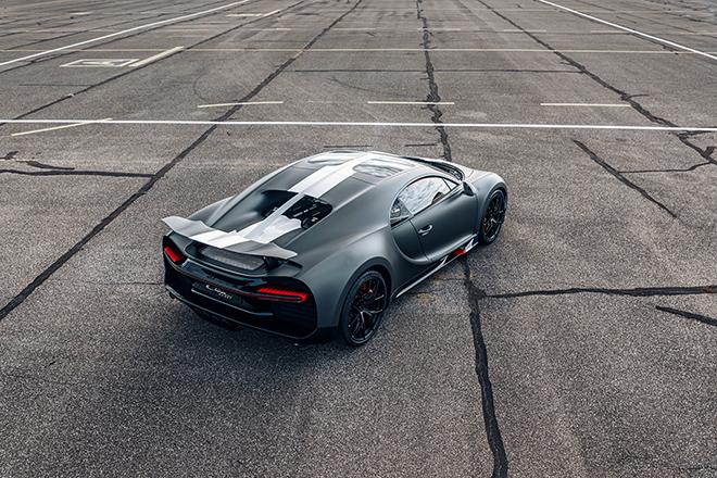Bugatti Chiron phiên bản huyền thoại bầu trời có giá bán hơn 78 tỷ đồng - 6