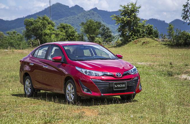 Giá xe Toyota Vios lăn bánh tháng 12/2020