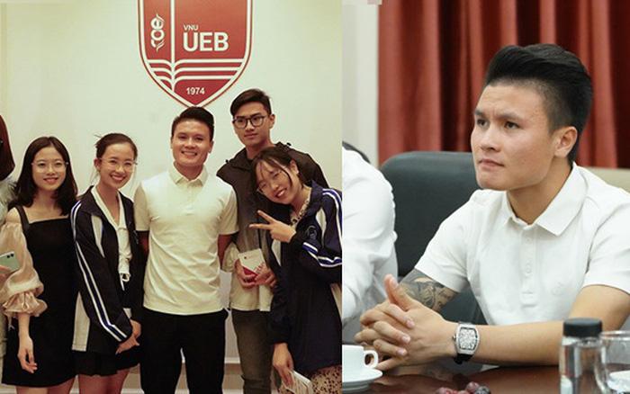 Quang Hải và dàn sao Việt khi trở thành tân sinh viên gây ngỡ ngàng - hình ảnh 1