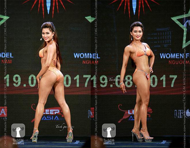 """Nữ sinh Cẩm Tiên mê gym, """"lột xác"""" nóng bỏng với vòng ba 100cm - 4"""