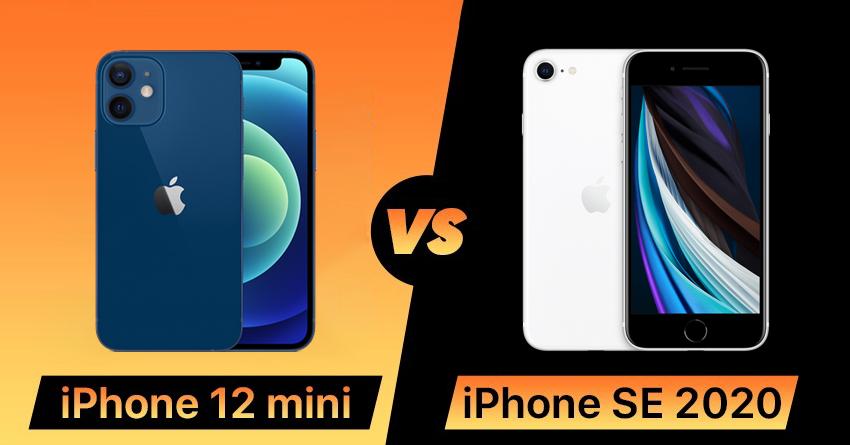Chọn iPhone 12 mini hay iPhone SE 2020 khi chênh nhau 9 triệu đồng? - 1