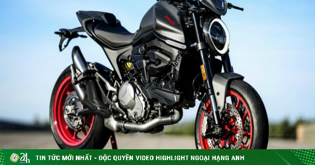 Ác quỷ 2021 Ducati Monster lộ diện, mạnh 111 mã lực