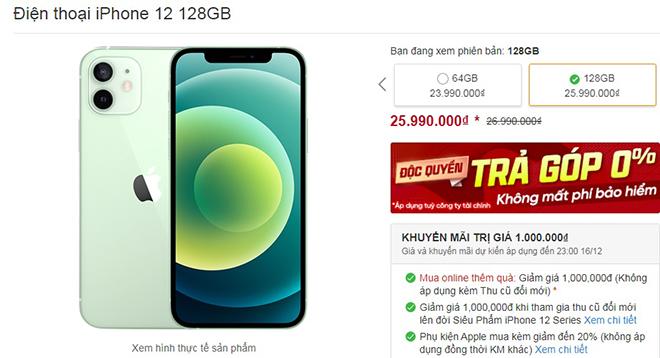 """Vừa được """"lên kệ"""", iPhone 12, iPhone 12 Mini liên tục bị giảm giá - 3"""