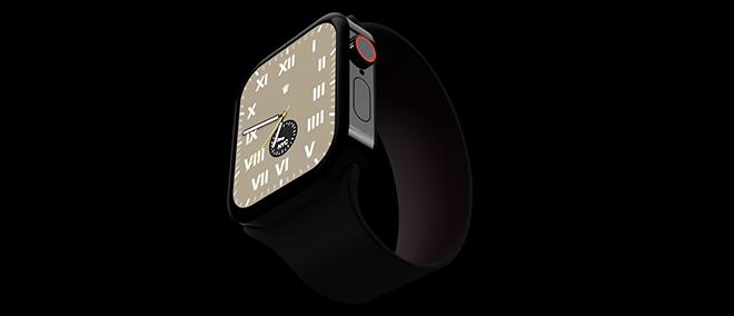 Choáng với concept Apple Watch Series 7 theo phong cách iPhone 12 - 1