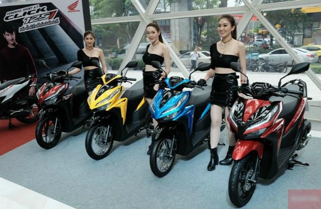 """Top 4 xe ga Honda nhập khẩu """"đốn tim"""" dân Việt"""