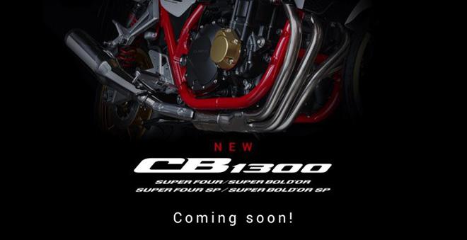 Bộ tứ Honda CB1300 chuẩn bị ra mắt: Quân bài chiến lược của Honda - 1