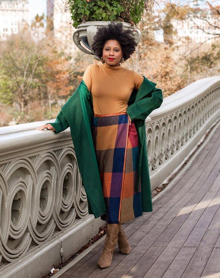 7 cách mặc áo cổ lọ cho cô nàng sành điệu mùa thu đông - 7