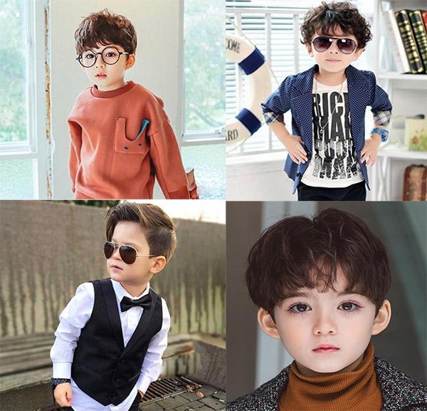 15 Kiểu tóc đẹp cho bé trai từ 1 đến 10 tuổi cực dễ thương và đáng yêu - 1