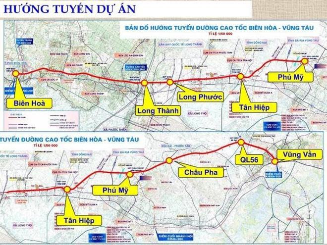 Cao tốc Biên Hòa – Vũng Tàu khởi công xây dựng năm 2021 - 1